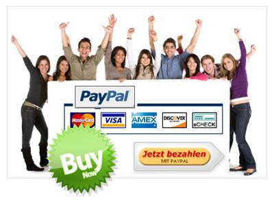 Jetzt Bezahlen mit PayPal
